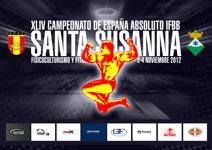Cto España FEFF 2012 Santa Susana; Resultados