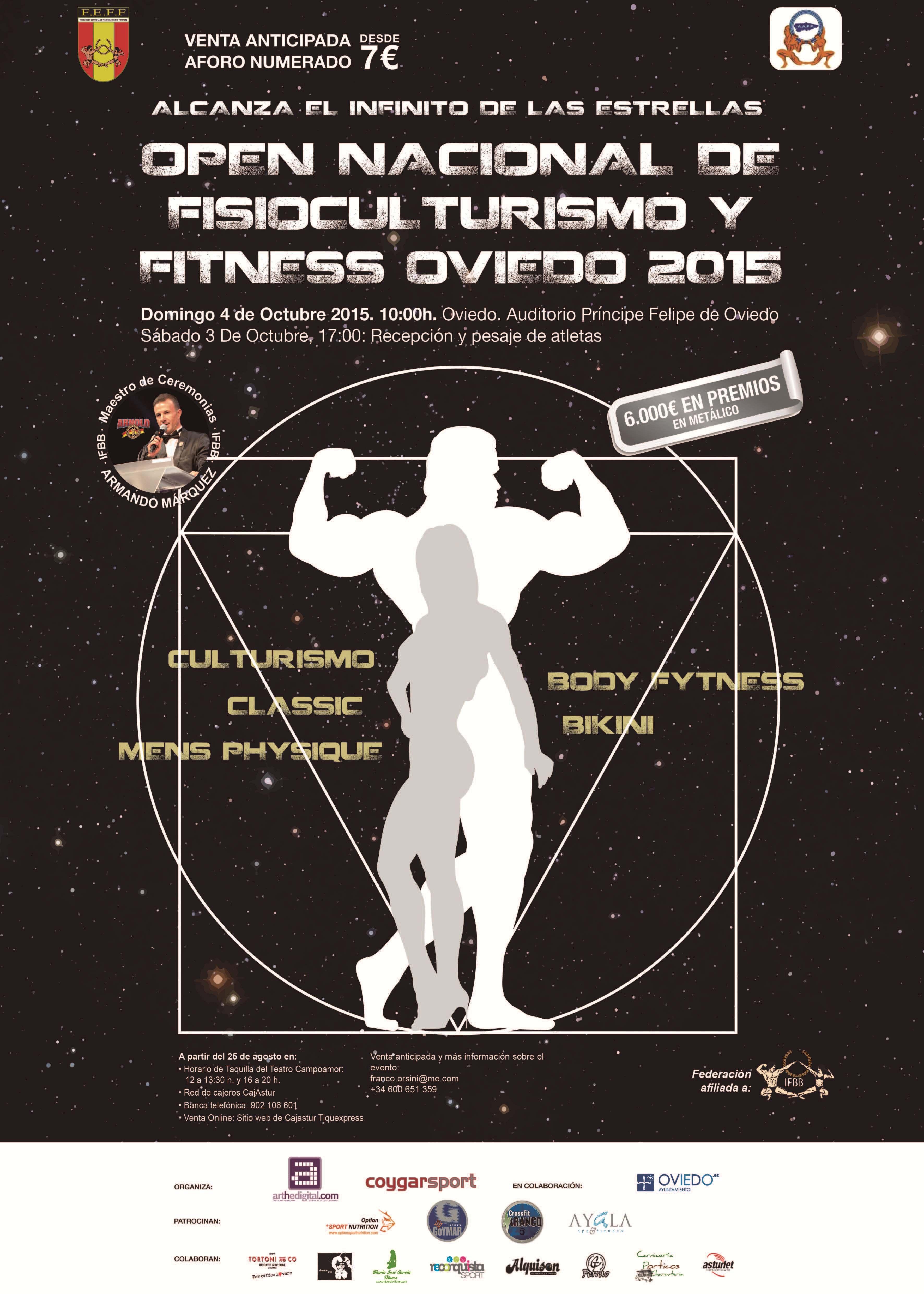 Open Nacional Oviedo FEFF 2015