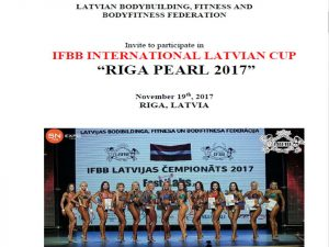 "IFBB International Latvian Cup ""Riga Pearl 2017"" @ Letonia 