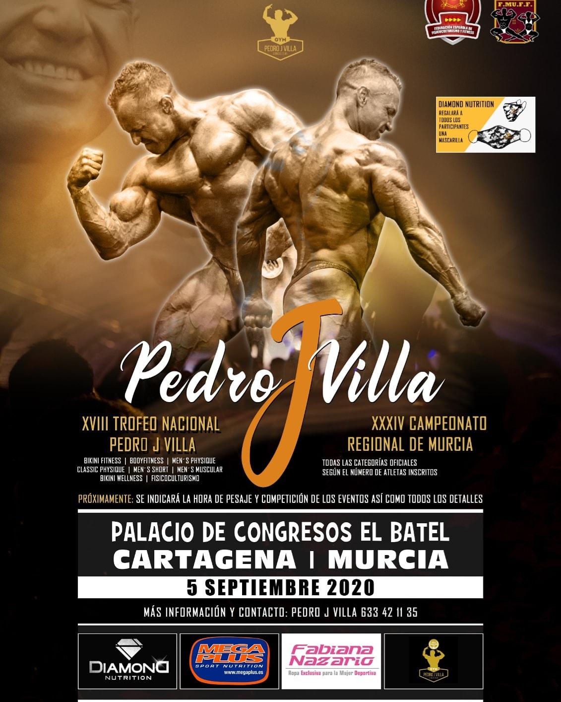 Cto Murcia + Trofeo Nac. Pedro J Villa FEFF 2020