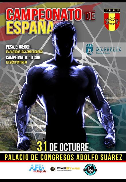 Cto España FEFF IFBB 2020 Marbella