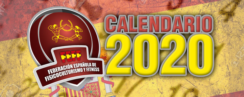Calendario 2020 – AVANCE – IFBB Spain