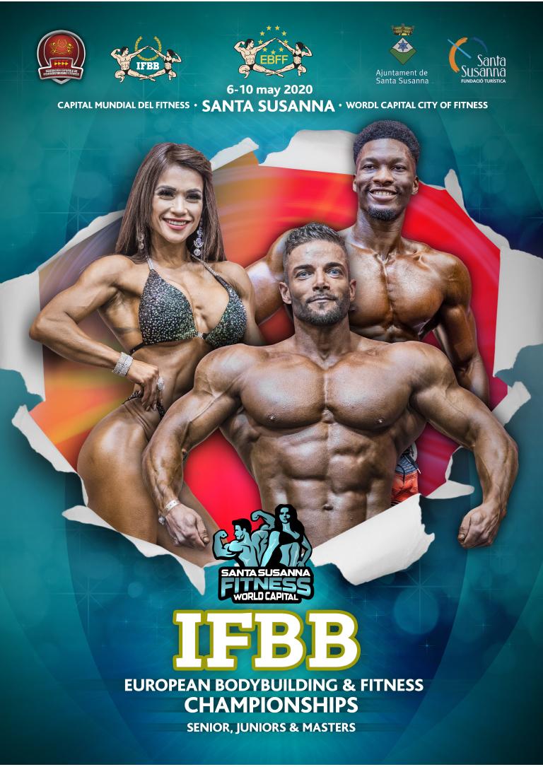 Ctos Europa IFBB 2020 Santa Susana, Inspection Report y Orden de categorías