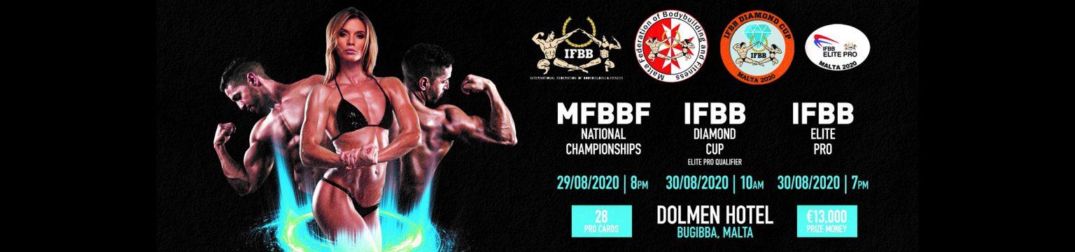 Diamond Cup Malta 2020 IFBB Resultados